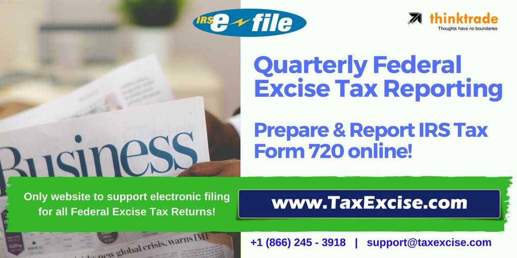 Form 720 eFile