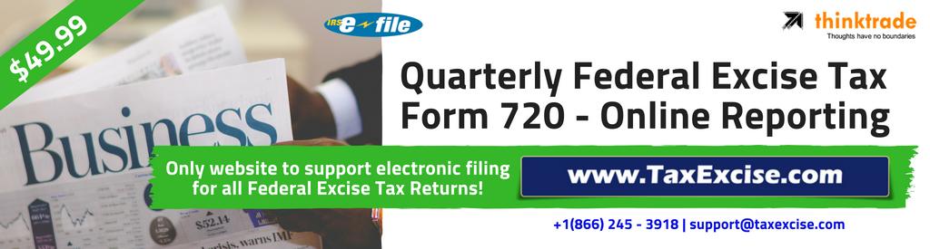 Tax 720 efile