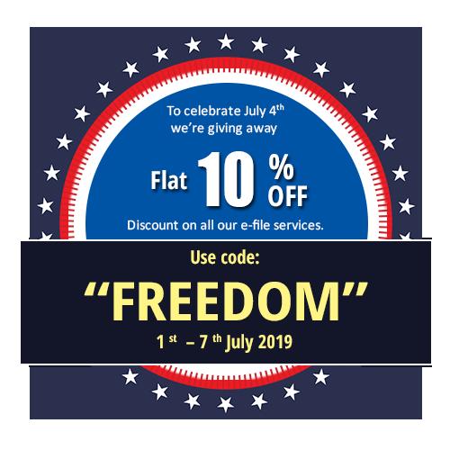 July 4th 2290 efile offer
