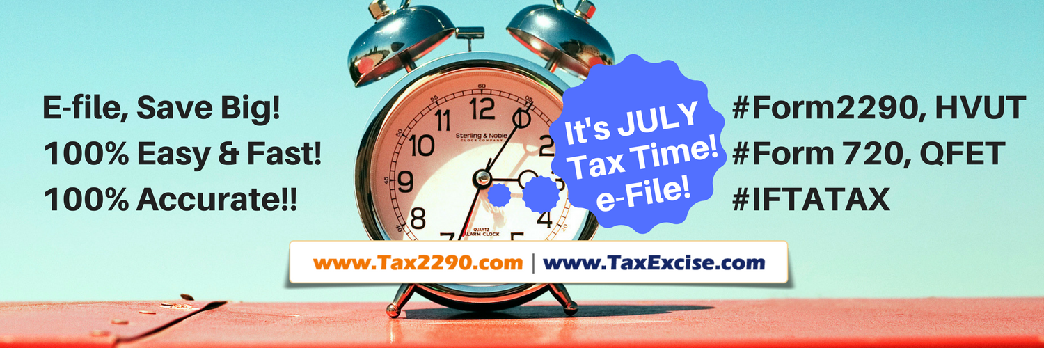 Federal Excise Tax Return online