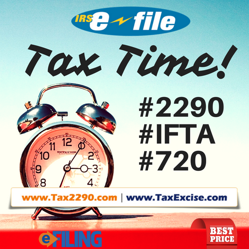 IRS Form 2290 Online Filing | Tax Excise – IRS tax form 2290