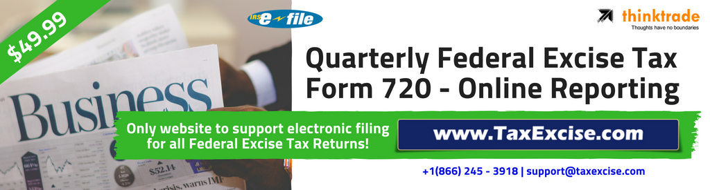 Tax Form 720 efile