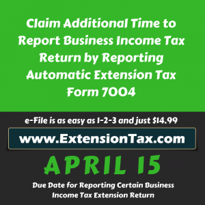 Business income Tax | Tax Excise – IRS tax form 2290